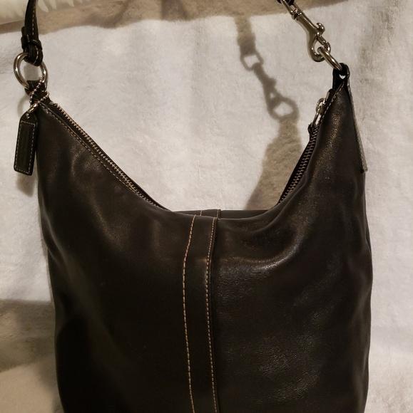 Coach Handbags - Black leather Coach handbag